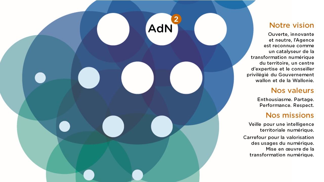 Vision Missions Valeurs de l'Agence du Numérique (AdN)
